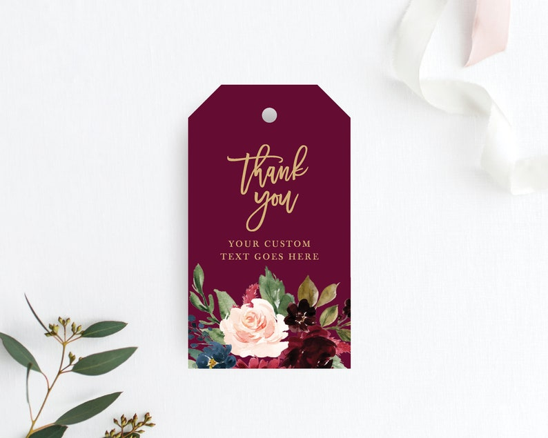 Gift Tags Wedding Favor Tags Wedding Thank You Tags Instant Download Printable Tag Wedding Tags Printable 120 Templett