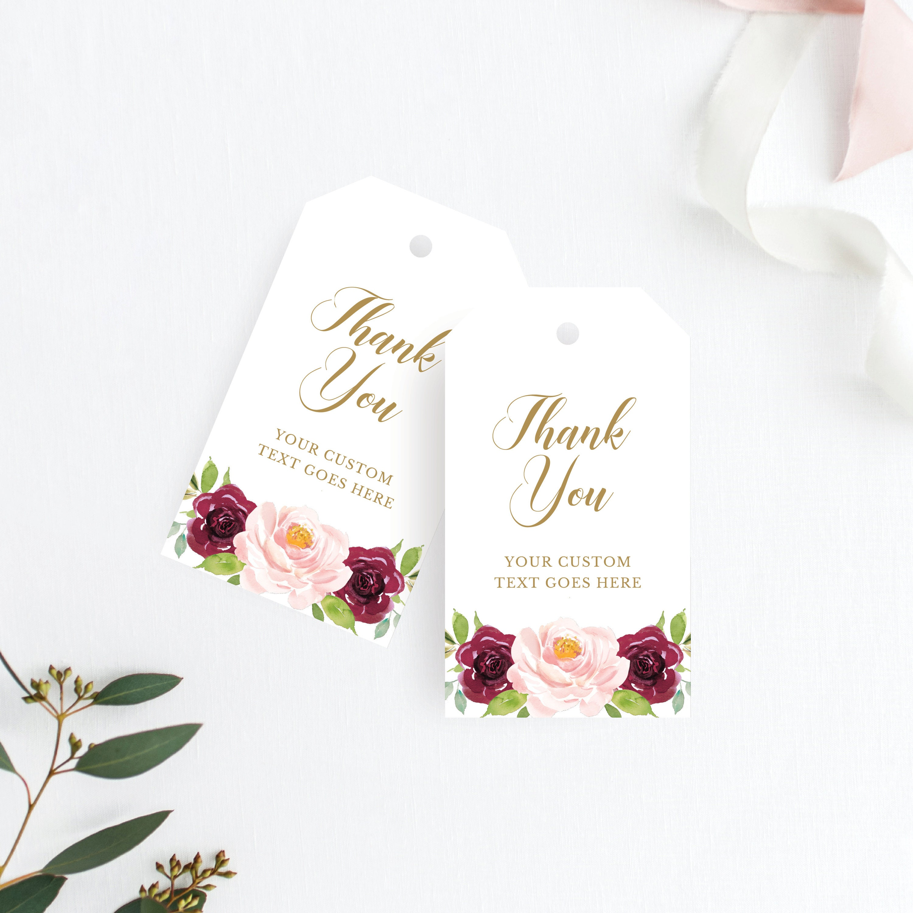 Funky Wedding Favor Thank You Tags Gift - The Wedding Ideas ...