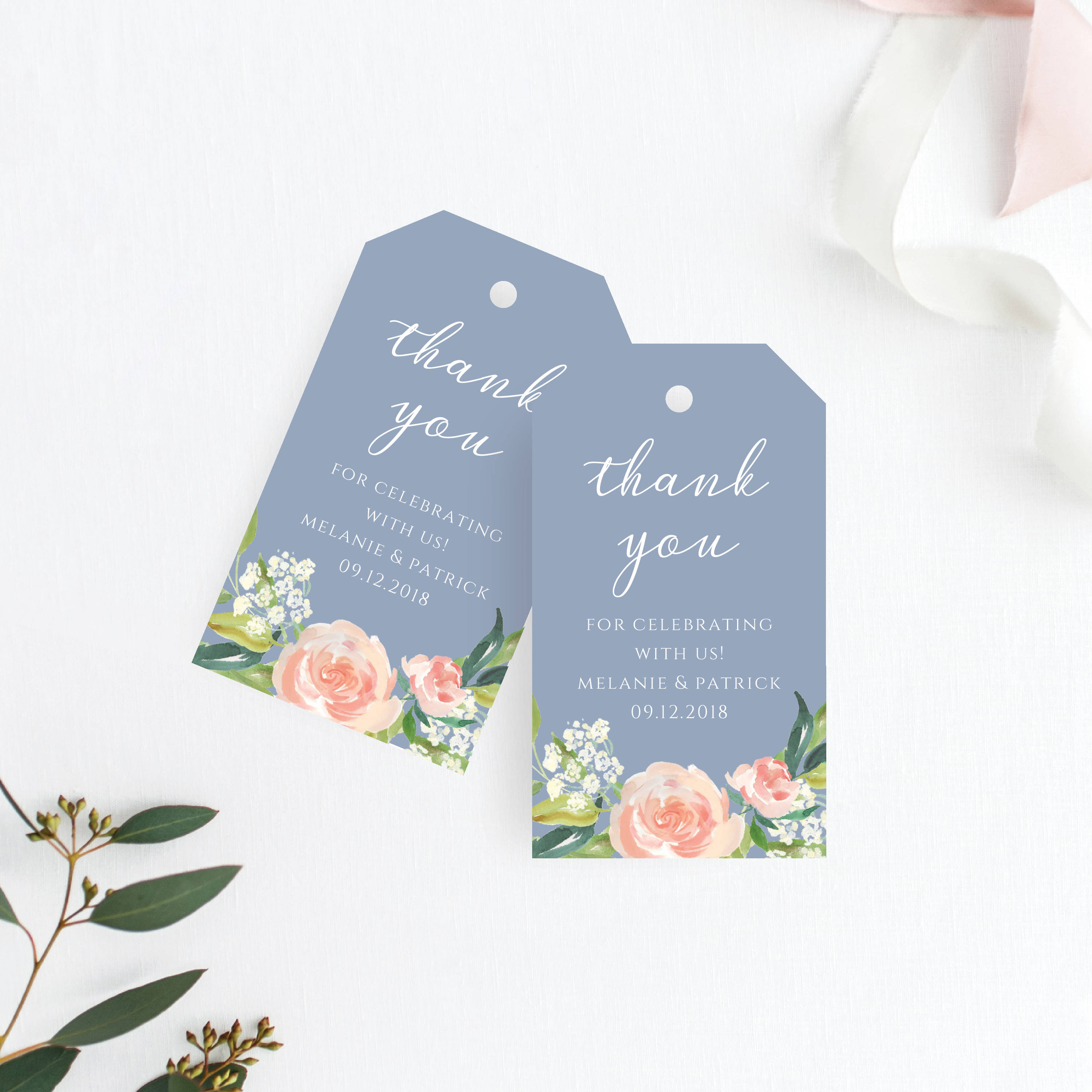 Thank You For Wedding Gift: Thank You Tag Wedding Thank You Tags Gift Tags Wedding