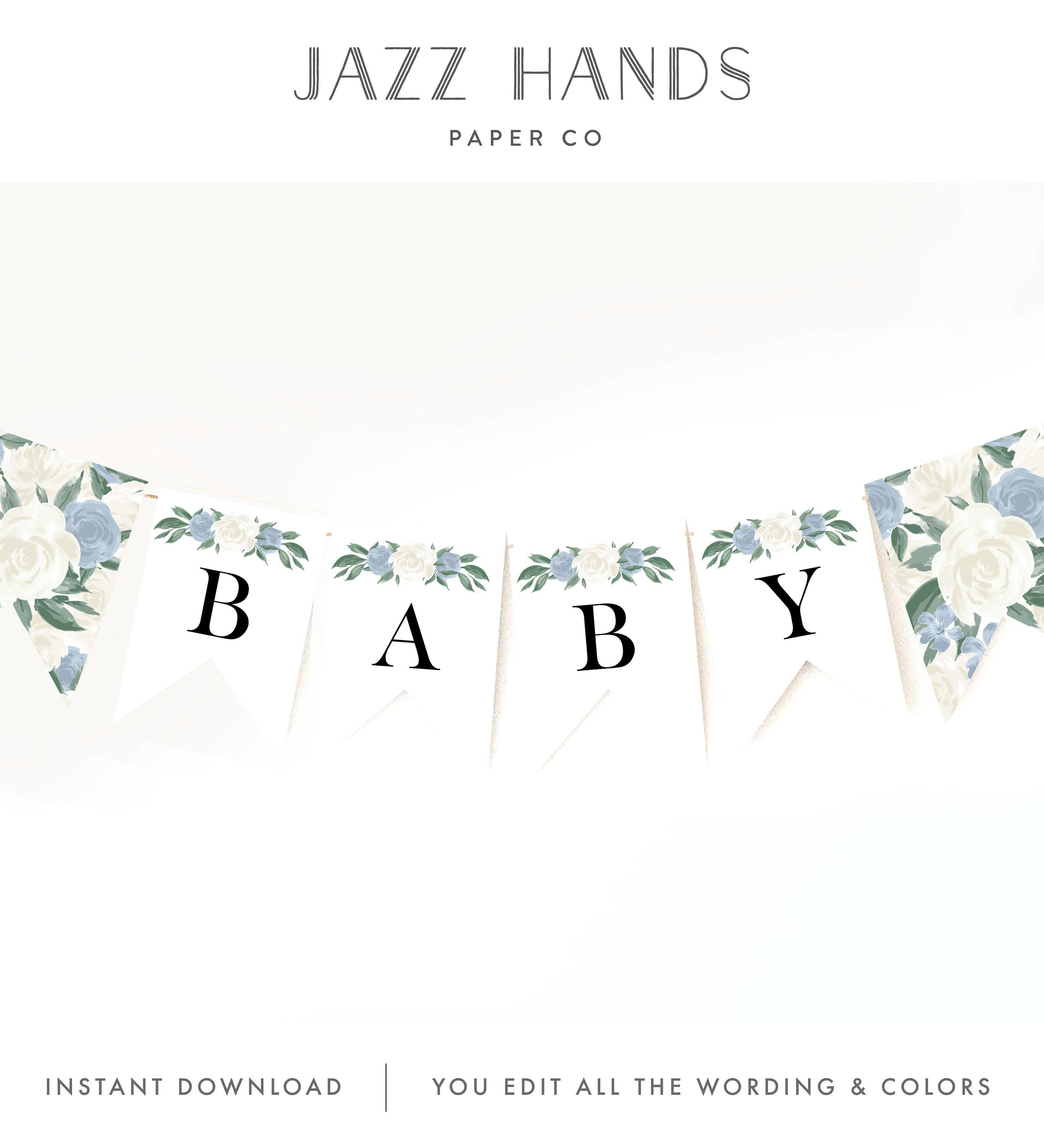 Baby Shower Banner Template from i.etsystatic.com