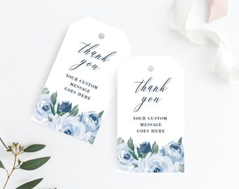 Wedding Thank You Tags, Wedding Favor Tags, Gift Tags, Wedding Tags Printable, Printable Tag, Instant Download, Templett, 118