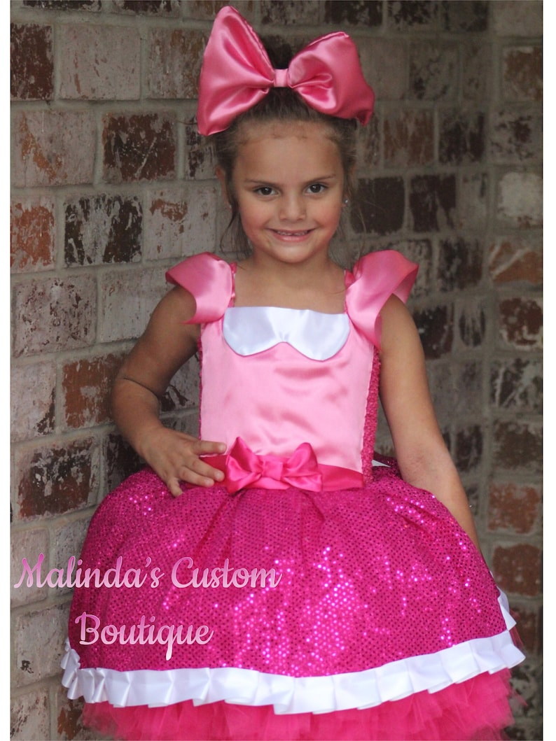 89f223efee Sparkle Doll dress , pink doll dress, birthday doll dress, Doll party ,  Doll costume , mouse costume, fancy lol style