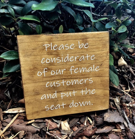 Incredible Restroom Sign Distressed Sign Wooden Business Sign Custom Sign Business Sign Toilet Seat Sign Uwap Interior Chair Design Uwaporg