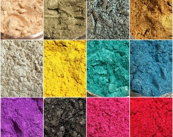 Natural Mineral Mica Powder , healthy natural powder, DIY For Soap Dye Soap Colorant makeup Eyeshadow Soap Powder Skin Care
