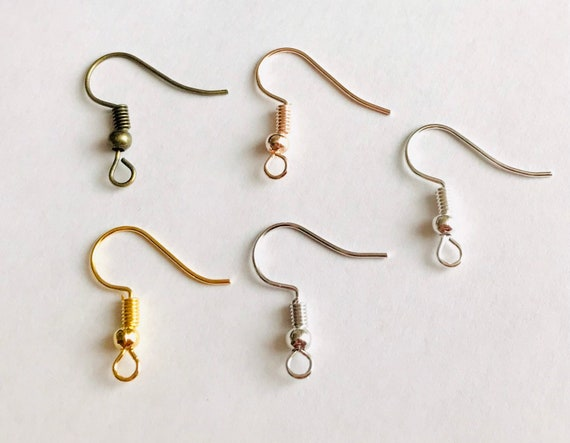 24pcs French Lever Back Earring Blank Wire Vintage Hook DIY Jewelry Making