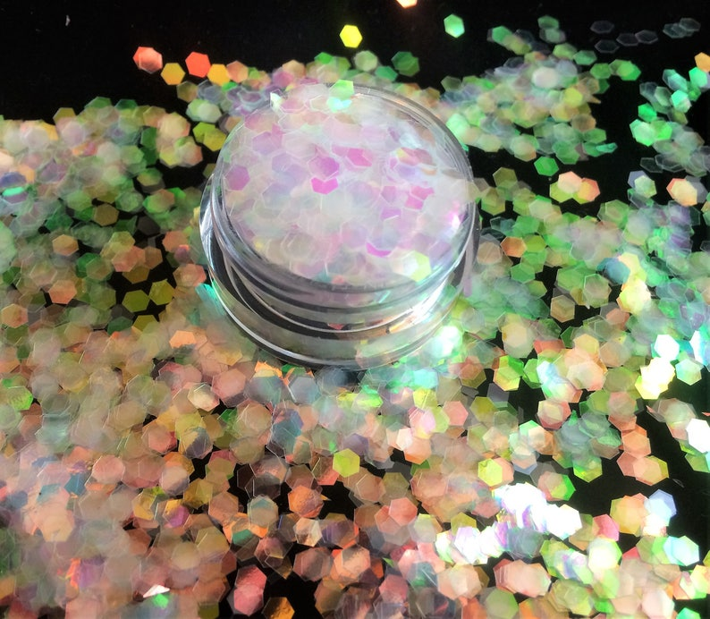 Nails Art & Tools Heart Round Star Decoration Mix Size Multi Shape Holographic Nail Art Sequins Laser Transparency Glittering Thin Nail Paillette