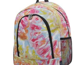 b9946d8e33f7 Tie dye backpack | Etsy
