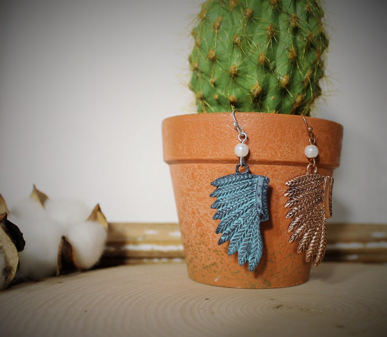 Western Earrings Southwestern Jewelry Concho Boho Tribal Indian Rodeo Southern Country Boots