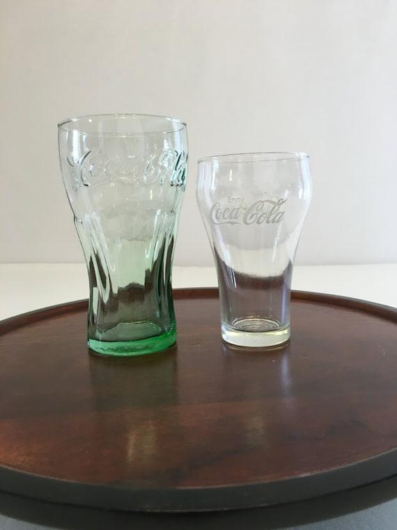clear coke glasses