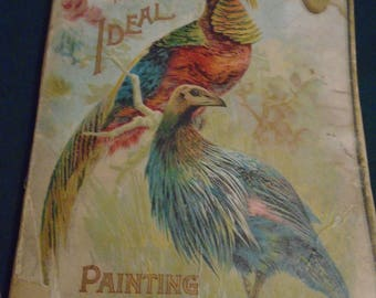 Late 1800's Child's Painting Book