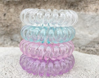 (Cotton candy) hair ties