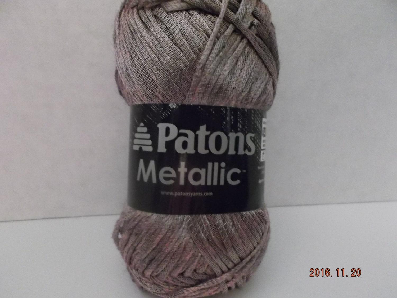 Patons Metallic Yarn Burnished Rose Gold 85 Grams/3.0 oz