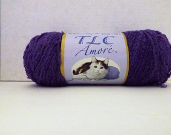 TLC Amore ~ Grape #3536 ~ 170 grams/6 ounces ~ 278 Yards ~ #4 Medium