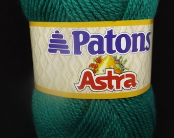 Patons Astra Yarn ~ OZ #08200 ~ #3 Light ~ 50 grams/1.75 ounces ~ 161 Yards/147 Meters