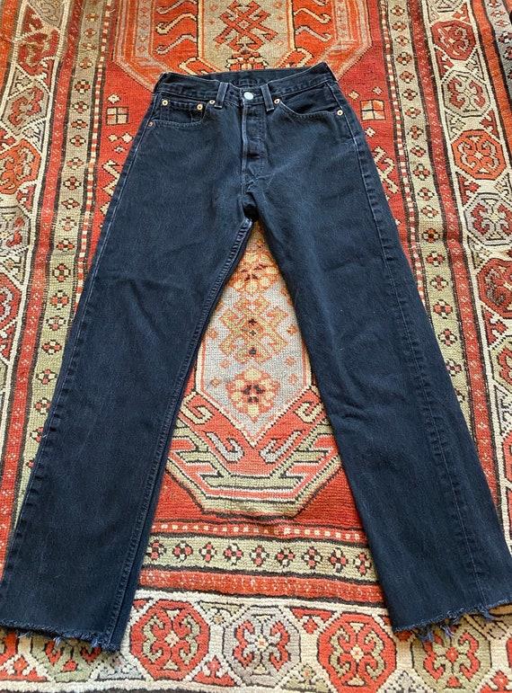 Vintage Levis 501 Black 25