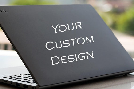 Custom Laptop Sticker Laptop Computer Vinyl Decal Sticker Make Your Own Cell Phone Decal Sticker Custom Laptop Computer Decal Sticker