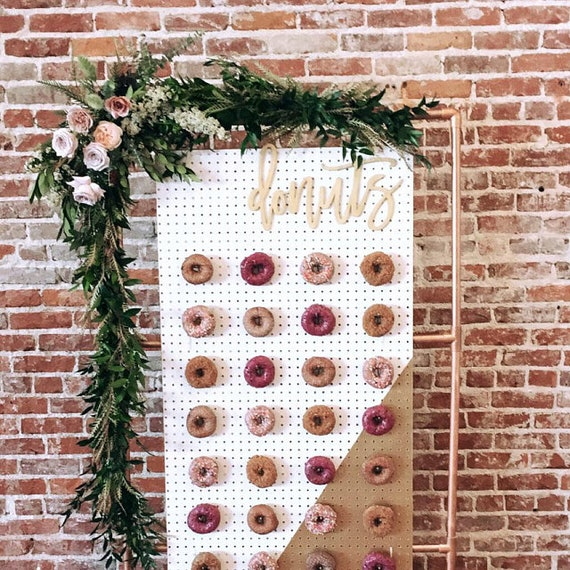 Donuts Sign Donuts Wood Sign Donuts Cutout For Donut Wall Etsy