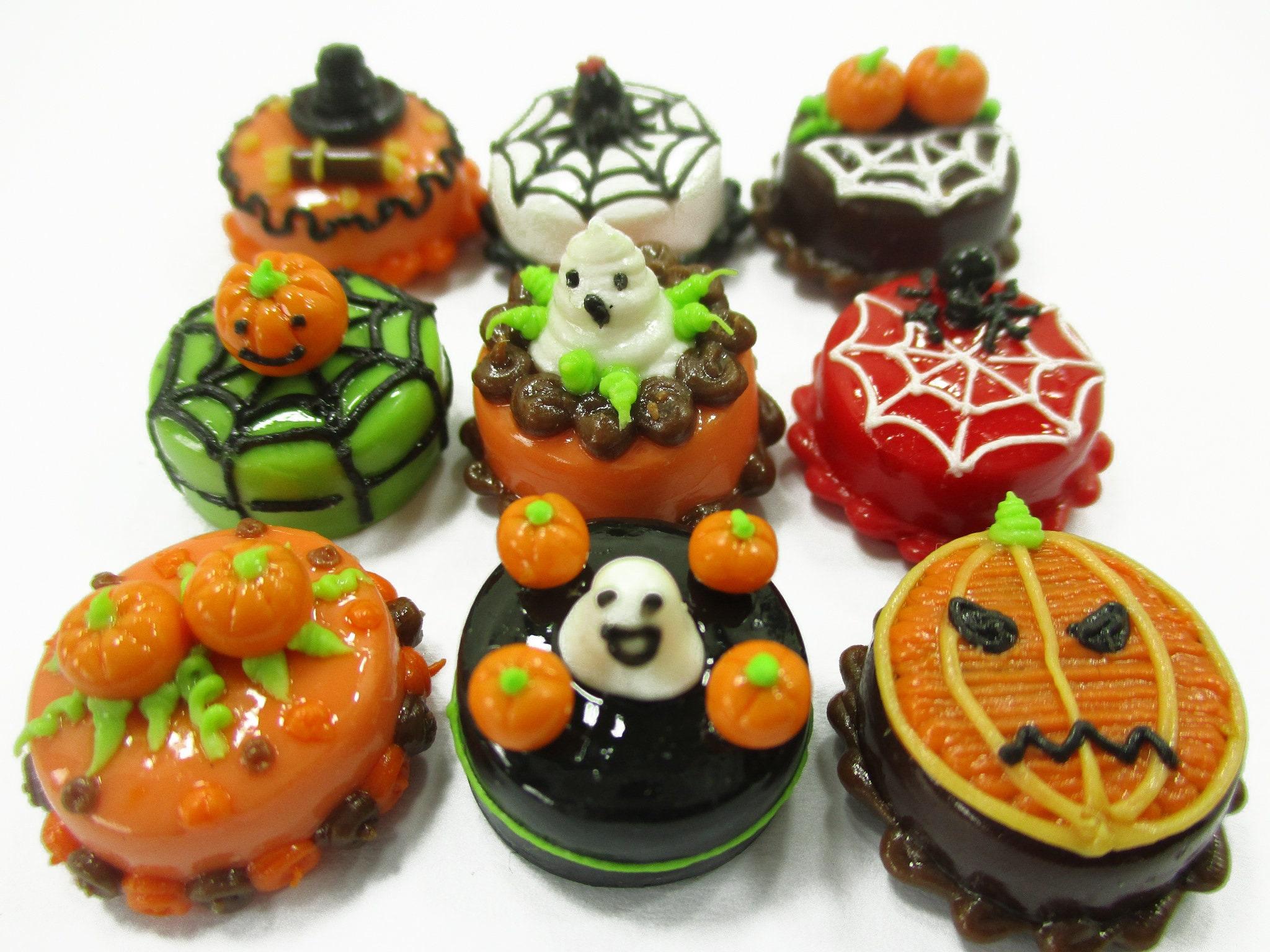 15 MIX Souffle Dollhouse Miniatures Mini Food Sweet Bakery
