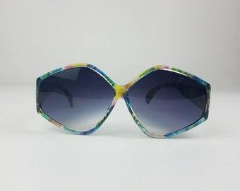 4f1416f895b Delightful Octagon Shaped Colorful Sunglasses