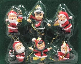 Vintage Miniature Christmas Ornaments