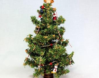 Miniature Victorian Christmas Tree