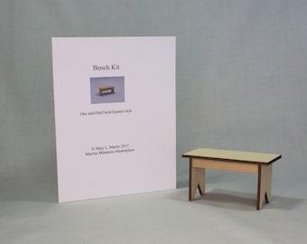 Miniature Bench Kit