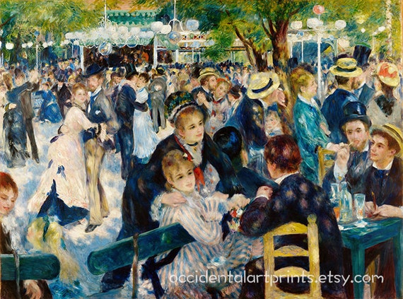 Pont-Neuf by Pierre-Auguste Renoir Giclee Fine Art Print Repro on Canvas