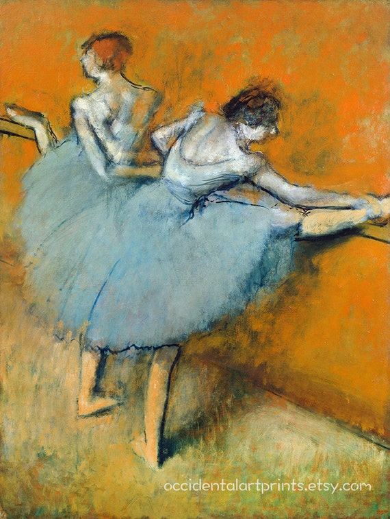 The Star 8x10 In Art Print Edgar Degas Ballerina