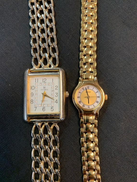 Vintage Watch Bundle, Seiko, Zeemex, Destash Bulk