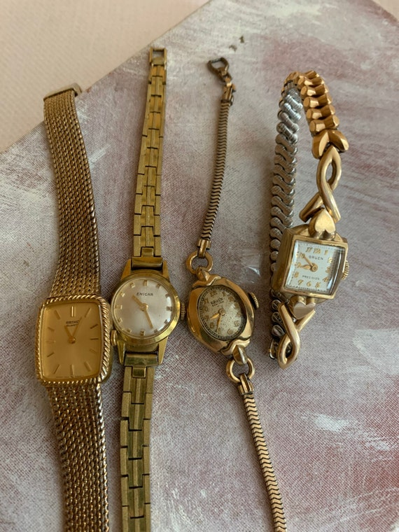 Vintage Watch Bundle, Destash Bulk Wrist Watch Lot