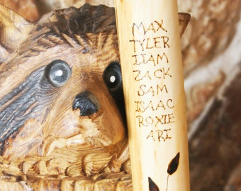 Grandparent Stick/Father's Day Gift/Gramps Stick/Grammy Stick/Grandparent Gift/Grandpa Gift/Grandma Gift
