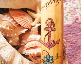 Nautical Walking Stick/Beach Accessories/ Beach Walking Stick/Beach Lovers/Sea Lovers/ Nautical Attire/ Customized Gift/ Personalized Gift