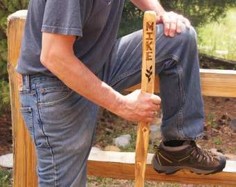 Personalized Hiking Stick/Hiking Stick/Gift for Him/ Walking Stick/Girlfriend Gift/Boyfriend Gift/Guy Gift/Kids Gift
