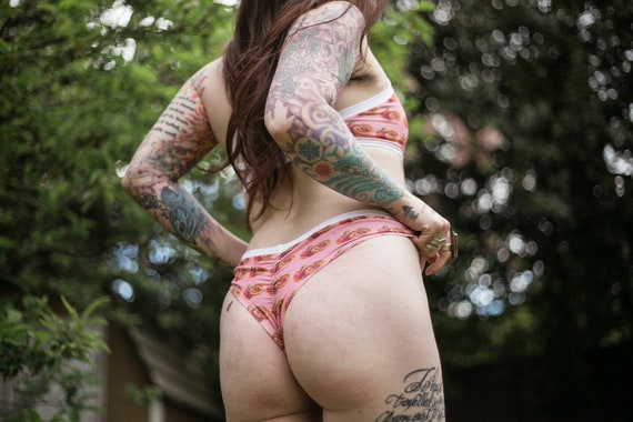 Made To Order Undies- Peach  Cheeky/Thong/Scrunchy Butt styles available (see last photo)