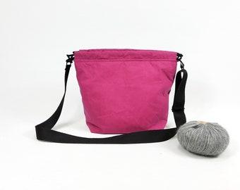 FieldBag, Project Bag, Project Bag, Knitting Project Bag, Handmade Bag, Crochet Bag, Knittingbag Size M