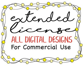 Extended License for ALL Designs - Commercial Use