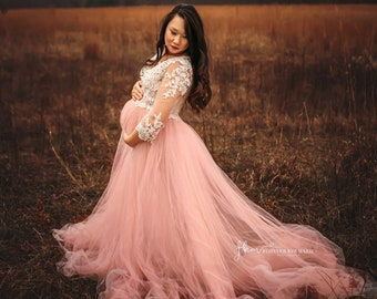 8f762f89b16 Blush Maternity Gown