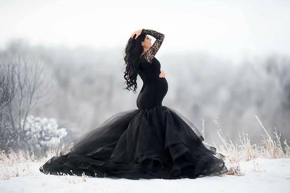 Maternity Photo Dress Pregnancy Gown Formal Maternity Etsy