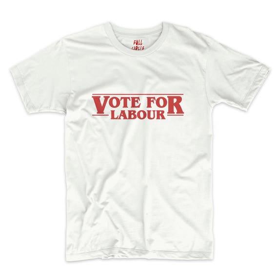 JEREMY CORBYN VOTE LABOUR TEE T SHIRT TOP S M L XL