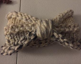 Bow Turban Headband Earwarmer