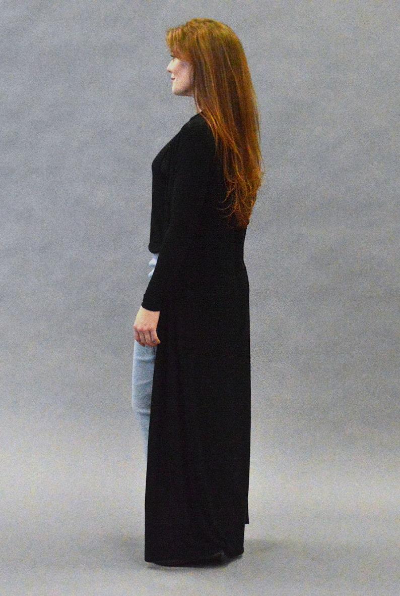 Floor Length Long Sleeve Duster Cardigan  09023f073