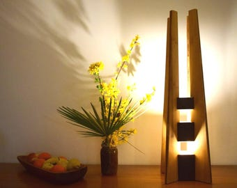 lamp to put,wooden lamp, high end: BETULA