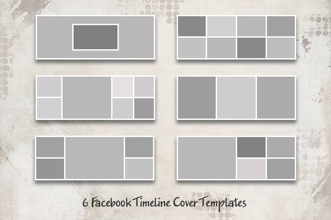 Facebook Timeline Cover Templates Facebook Cover Timeline Etsy