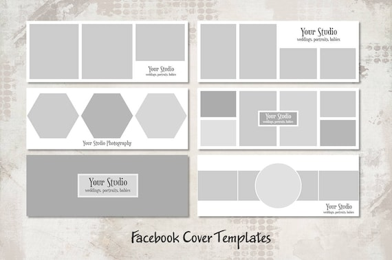 Facebook Timeline Cover Templates Facebook Banner Photo Etsy