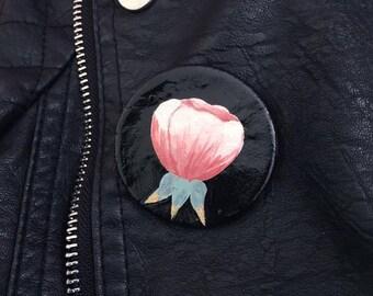 Floral Ceramic Pin