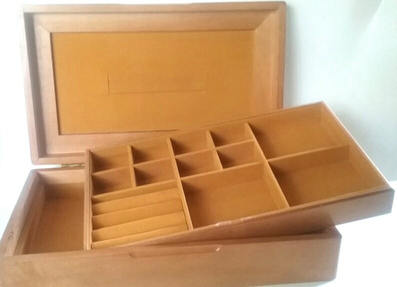 Oak Jewelry Box