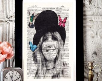 070f56ef8 Stevie Nicks GYPSY Gift Poster- Print- Gift For wife- Husband GIFT-  birthday Gift Boyfriend Gift- Stevie Nicks Gift