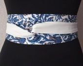 White faux leather sash woman Obi belt wide 151, denim corset belts for women, casual reversible women 39 s Japanese belts