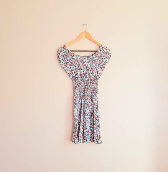 Vintage 90s Y2K Floral Dress