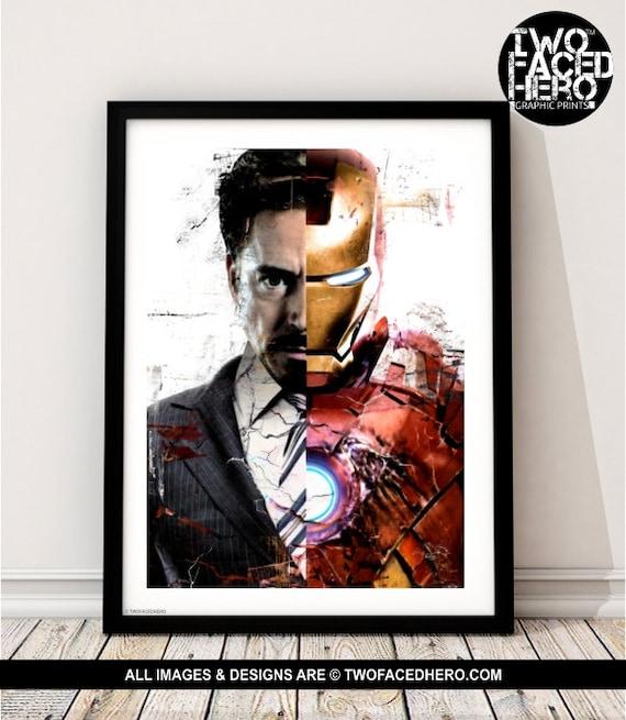 Iron Man MINI POSTER BACKER CARD NOT a movie